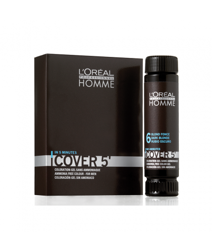 Loreal Professionnel Homme Cover 5 nr 5 3x50 ml | 3474634006481