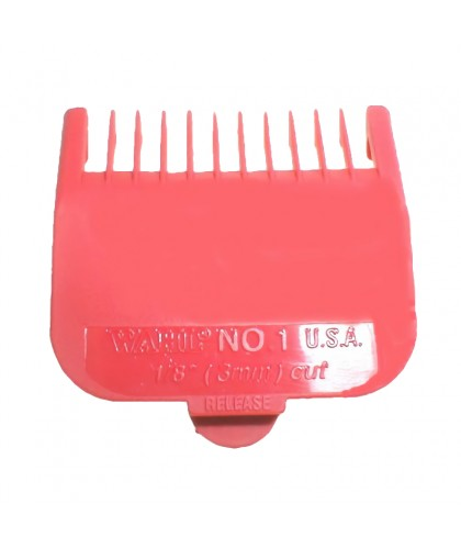 Wahl Opzet Kam Rood No1 - 3mm