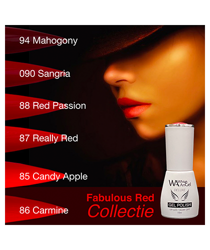 White Angel Fabulous Red Collectie 10 Ml   7424923621693