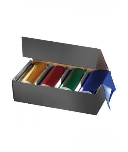 Comair Alu folie assorti kleuren 4x50 mtr