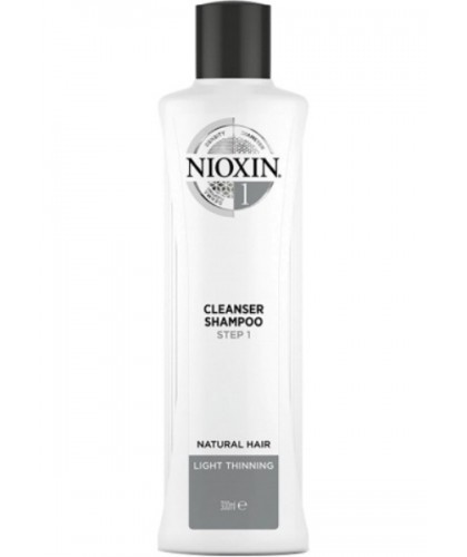 Nioxin Cleanser Shampoo Step 1 300 ml