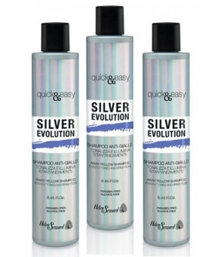 Helen Seward Quick and easy no yellow silver evolution shampoo display 12x250 ml