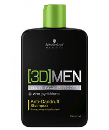 Schwarzkopf 3D Men Anti Dandruff Shampoo 250 ml | 4045787264449