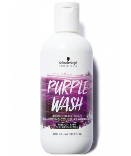 Schwarzkopf Bold Color Wash Purple Wash 300 Ml | 4045787430417