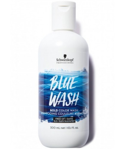 Schwarzkopf Bold Color Wash Blue Wash 300 Ml | 4045787430493