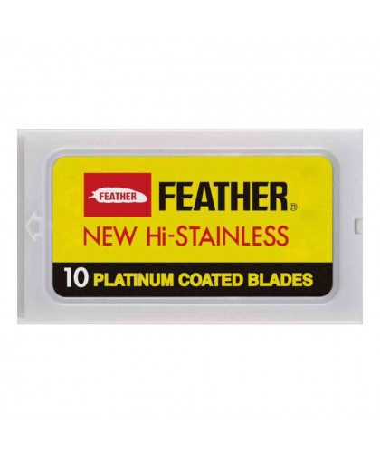 Feather Hi Stainless Blades