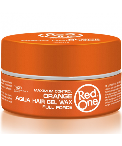 Red one Aqua Hair Wax Orange 150 ml