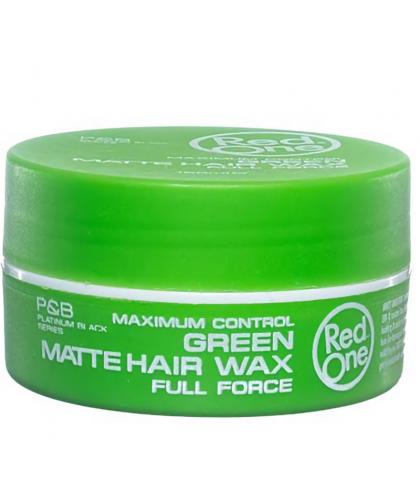 Red one Matt Hair Wax Green 150 ml