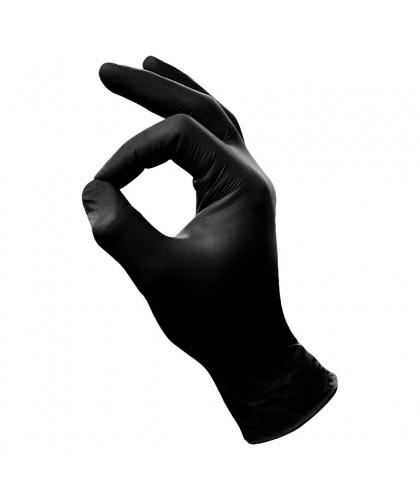 Idol Beauty Nitril Handschoenen Zwart M